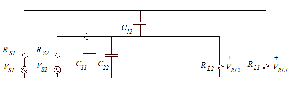 Schematic representation of the circuits in Fig. 1